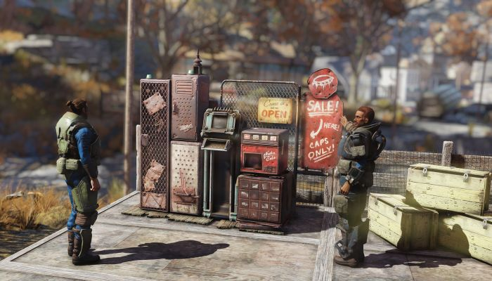 Player Vending Machines & a New NPC Coming to Fallout 76 in Patch 9 - MMORPG.com