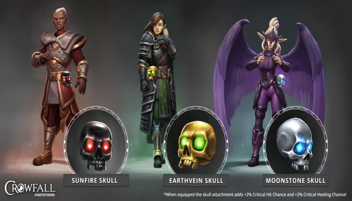 Crowfall's Latest Event Rewards Players For Collecting Skulls - MMORPG.com