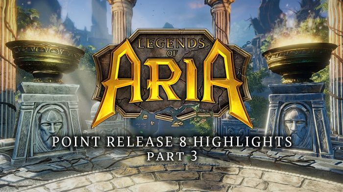 Legends of Aria Point Release 8 Includes NPC Factions, Township Boards, More - MMORPG.com