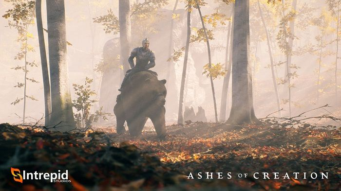 Ashes of Creation Shows Off Bear Mount and Lore - MMORPG.com