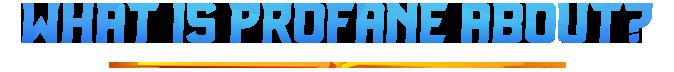r/MMORPG - Profane - A True Sandbox MMORPG